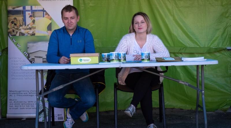 Mobliny Punkt Informacyjny MZC na Pikniku Ekologicznym we Włodawie