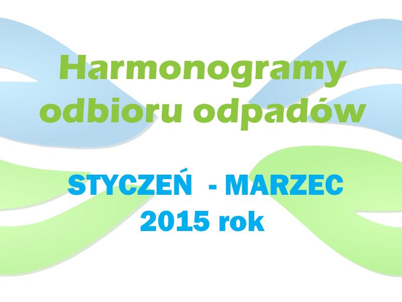 harmonogramy