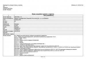 Rejestr Działalności Regulowanej w zakresie odbierania odpadów komunalnych od właścicieli nieruchomosci